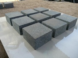 Black Granite Cobbles M/C