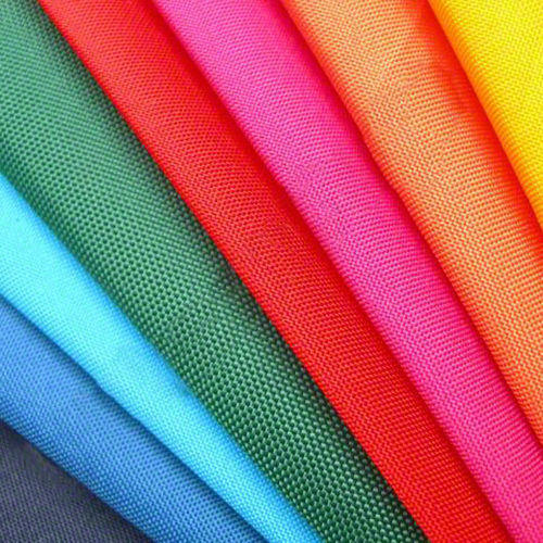 Red And Yellow Plain Fire Retardant Curtain Fabric