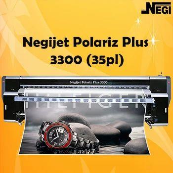 Negijet Polariz Flex Printing Machine - 3300 Plus (15pl / 35pl)