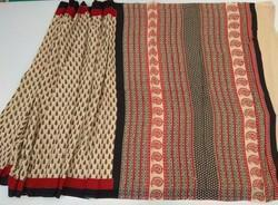 Hand Block Cotton Saree