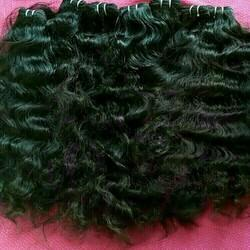 Top Quality Raw Remy Natural Wavy Human Hair From Temple