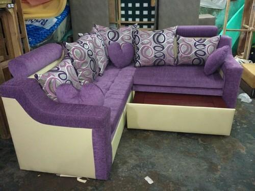 L Shape Sofa Cum Bed
