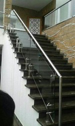 SS Modular Glass Railing
