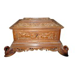 Brown Sandal Wood Box