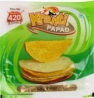 Agarwal 420 Papad Moong Sada 200 Gm