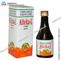 Multivitamin Syrup with L - Lysine