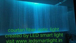 Curtain Fiber Optic Light