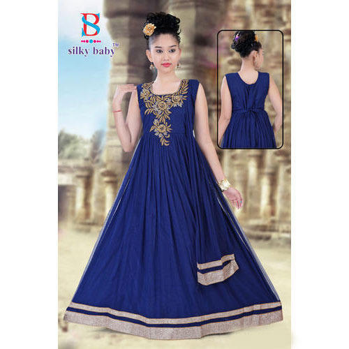 9902869e24071 Royal Party Wear Kids Gown at Rs 1095 /piece | Dadar | Mumbai | ID ...