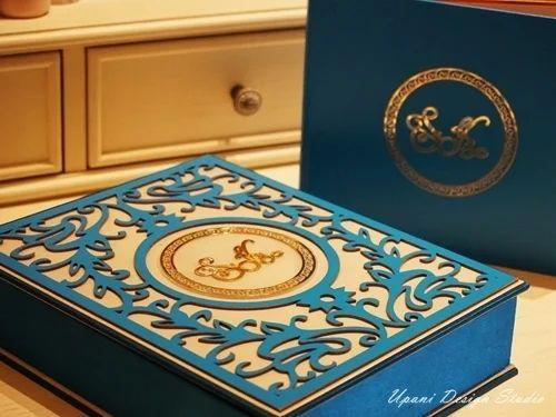 Laser Cut Wedding Invitation Boxes