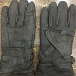 Leather Bike Gloves