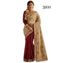 Net Bridal Indian Saree