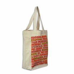 Cream Fashionable Canvas Bags