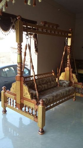 Stylish Wooden Swing Unjal At Rs 35000 /1 Set