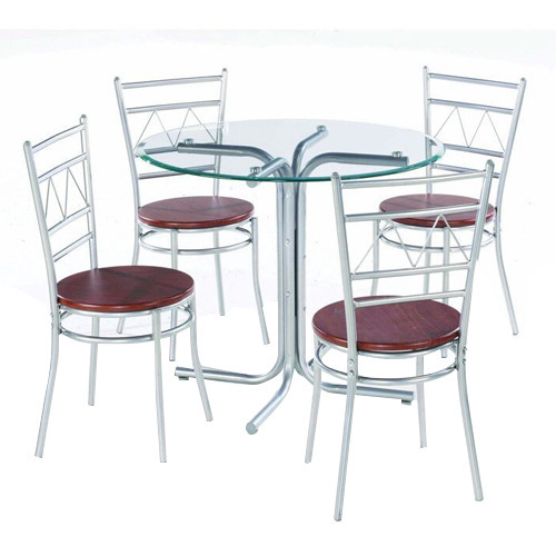 Four Seater Steel Dining Table Set Part 6
