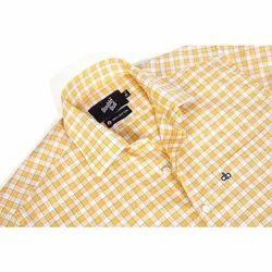 Men Checked Formal Shirt