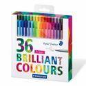 Plastic Staedtler Color Pen Set Of 36 Assorted Colors