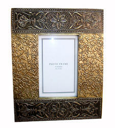 Brass Fitted Design Wooden Frame