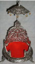 Silver Pooja Items for Temple
