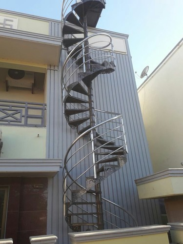 Spiral SS Staircase