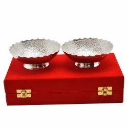 Brass Silver Bowl Set