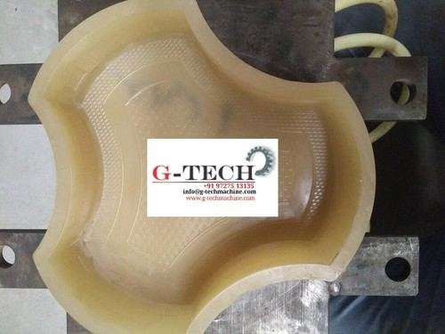 PVC Rubber Paver Mould, Packaging Type: Bag