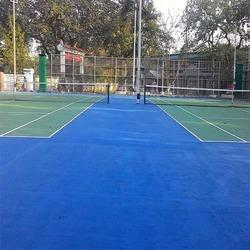 Asian Flooring Tennis Court Synthetic Flooring