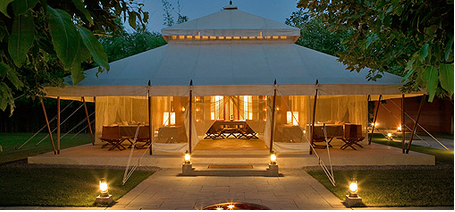 Mughal Tent & Mughal Tent | Village Safari Tents | Manufacturer in Jhalamand ...