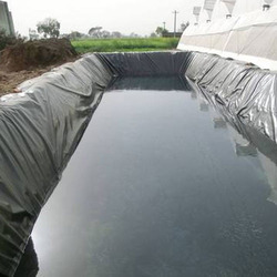 Black HDPE Polythene Sheet