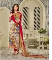 Ladies Printed Fancy Suit