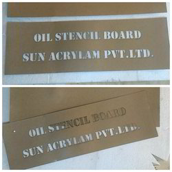 Oil Stencil Boards