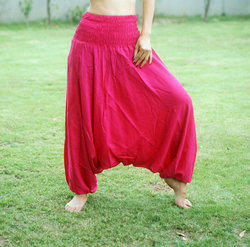 Women Yoga Party Wear Aladdin Gypsy Dance Trouser