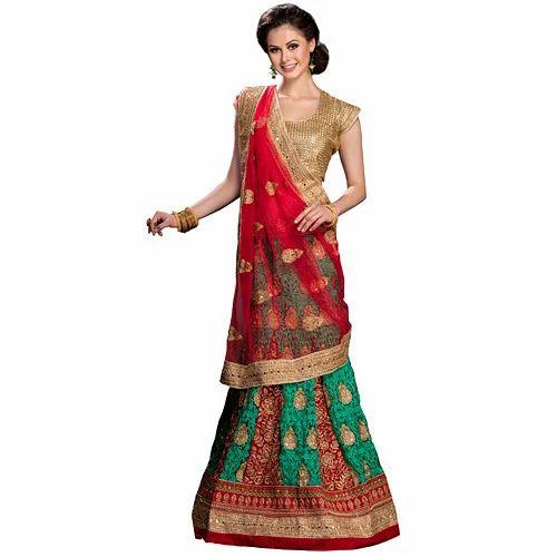 5c2e080954c Georgette Semi-Stitched Designer Ghagra Choli