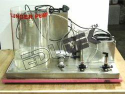 Plunger Pump Demonstration Unit