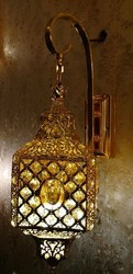 Antique Crystal Wall Light