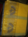 Brite Yellow Saree
