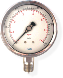 Industrial Use Bourdon Pressure Gauge