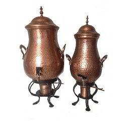 Antique Copper Finished Samovers for Beverages