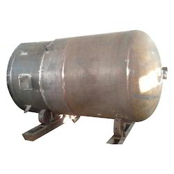 Mild Steel MS Tank Fabrication Service, Shape: Cylindrical