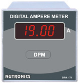 Digital Panel Meter Ampere