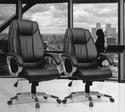 Boss Black Chair