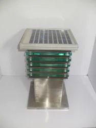 Solar Bollard Garden Light