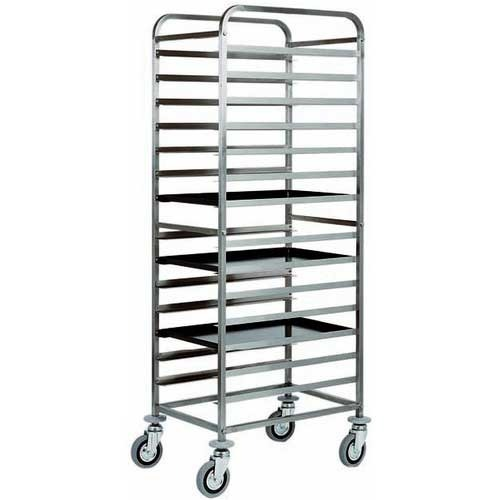 Tray Kitchen Trolley at Rs 10000 /piece | Tray Rack Trolley | ID ...