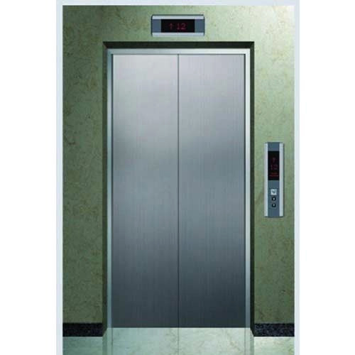 Stainless Steel Center opening Synergy Auto Doors