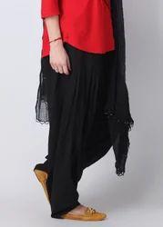 Vital Black Cotton Salwar