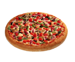 Crunchy Veg Pizzas