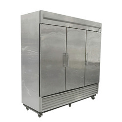 Stainless Steel Ultracool Systems Industrial Refrigerators, Electricity, Bottom Freezer