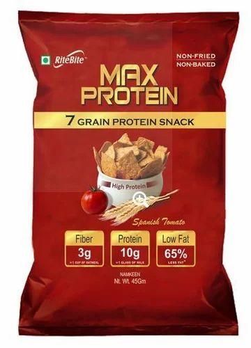 max protein snacks spanish tomato 45 gm protein snacks natural
