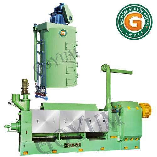 Semi-Automatic Mustard Seeds Oil Extraction Machine