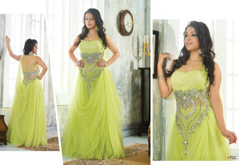 7b6ac0defed Gowns - Designer Gown Manufacturer from Surat