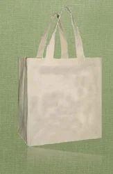 Recycled Organic Canvas Loop Handle Bag